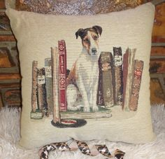 We love this pooch scatter cushion by Grey Gardens. Available on our website.