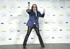 Inductee Ace Frehley of KISS.