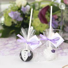 Brautpaar Cake Pops
