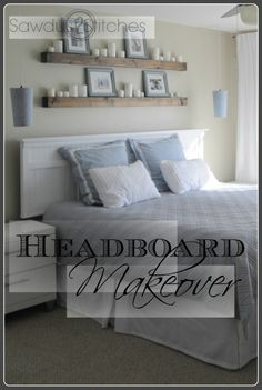 Sawdust and Stitches: Headboard Makeover