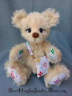 Ms. Vuitton by Bear Hugs by Sandra Marie