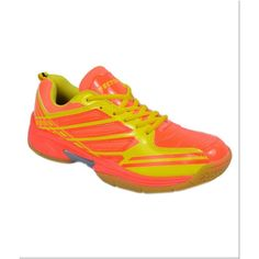 VECTOR X CS 2005 NON MARKING BADMINTON SHOES NEON ORANGE YELLOW.....Want to learn how you can support your badminton passion to buy the best badminton shoes and accessories while also travelling around the world to watch the best badminton tournaments? Click the photo on top to watch the free video that shows you a tried and tested system that will enable you to make money online from home so you can support your badminton passion   #badmintonshoes #badminton #badmintonfan