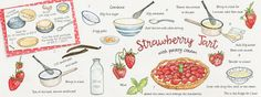 Strawberry Tart by Suzanne de Nies