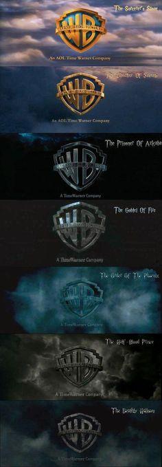 Evolution Of Warner Bros. Logo In Harry Potter Evolution Of Warner Bros. Logo In Harry Potter Evolution Of Warner Bros. Logo In Harry Potter Harry Potter World, Images Harry Potter, Harry Potter Films, Harry Potter Love, Harry Potter Fandom, Warner Brothers Harry Potter, Warner Brothers Logo, Harry Potter Theories, Harry Potter Facts