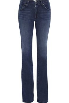 Want!- James Jeans mid-rise bootcut jeans