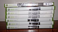 7x Copies of DJ Hero (Microsoft Xbox 360, 2009) Complete In box Games Only Lot