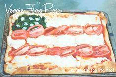 Pizza Flag by @mrsgloves #veggieworld