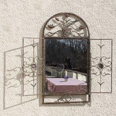 Floral Garden Window Mirror from notonthehighstreet.com