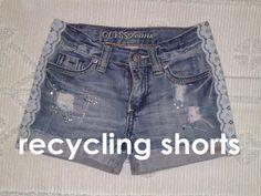 PONTINHOS: Reciclar calções!
