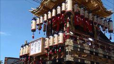 """【能登散策物語】 飯田町燈籠山祭り 2015 (とろやま) 昼の巡行編 """"Iida TOROYAMA Festival in Isikawa J..."""
