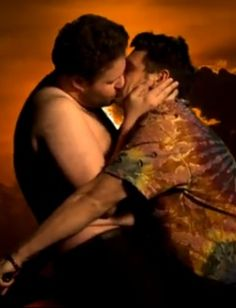 James Franco and Seth Rogen parody Kanye West's Bound 2 music video. Watch it on Mamamia.com.au. #entertainment #viral