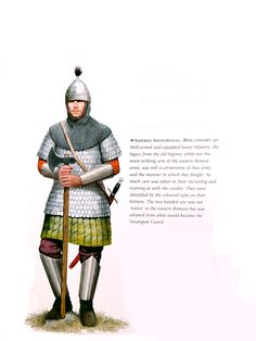 Century Byzantine soldiers in scenes from the Book of Joshua Byzantine Army, Ottonian, Military Costumes, Empire Romain, Armadura Medieval, Roman Soldiers, Medieval Armor, Historical Art, Illustrations