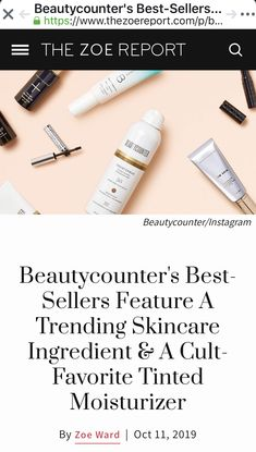 You can tell a lot about a beauty brand by checking out its bestsellers list. Does it nail face cleansers like no other, or does it hold titles for some top-selling color cosmetics? Sheer Lipstick, Soft Lips, Facial Oil, Tinted Moisturizer, Liquid Foundation, Face Cleanser, Clean Beauty, Smooth Skin, The Balm