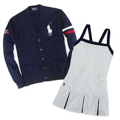 At this month's US Open, not only can we look forward to intense court action from the players, but dapperly dressed chair umpires, line judges, and ball persons will be scoring points as well in Ralph Lauren designs.