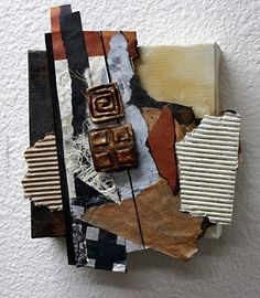 Inheritance, 051116 by Carol Nelson mixed media ~ 8.0 x 6.5