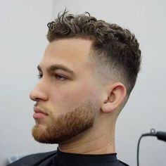 Hairstyles For Men With Short Curly Hair Models