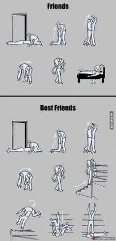 Amigos versus Mejores amigos - Malainfluencia
