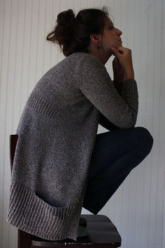 Linney Cardigan by Amy Christoffers. I knit another cardi by her and I wear it all the time.