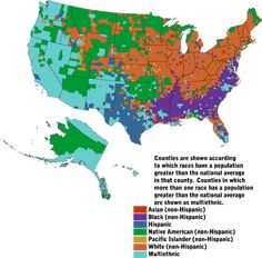 map+demographics | CensusScope -- Demographic Maps: Geographic Variations