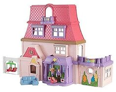 Check out the Loving Family Dollhouse Gift Set at the official Fisher-Price website. Explore the world of Loving Family™ now! Dollhouse Kits, Dollhouse Dolls, Dollhouse Miniatures, Dollhouse Accessories, Doll Accessories, Loving Family Dollhouse, Special Needs Toys, Thing 1, Fashion Royalty Dolls