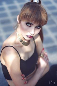 Sylwia Sochacka : MODEL Portrait by Natalia Świerat Sadowy Canon 7D 50mm 1.4