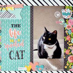 Carpe Diem The+Life+of+a+Spoiled+Cat+**Simple+Stories** - Scrapbook.com
