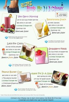 fun vi shakes    This website has a ton of shake recipes!!! :-)  Love it!!