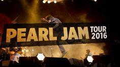 Announcing Pearl Jam's Tour 2016! More info at PearlJam.com #PJTour2016 #PearlJam
