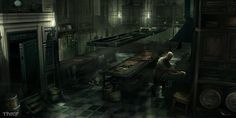 Architect Mansion Kitchen Characters & Art Thief Concept art world Concept art Mansion kitchen