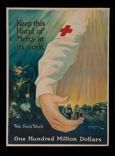 Before the advent of radio and motion pictures, art and illustration were the primary forms of mass communication. With the outbreak of World War I, governments, militaries, and service organizations hired artists and illustrators to depict the ravages of war and to rally patriotism. Poster imagery created before and during American military participation was used to mobilize citizens to enlist, give aid to refugees and soldiers, and motivate any and all people to join the fight through…