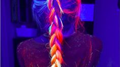 OMG, Yes, You Can Totally Make Your Hair Glow-In-The-Dark Now – Must Have Tips