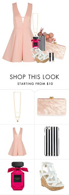 """Untitled #1375"" by misfitsclub on Polyvore featuring Edie Parker, MICHAEL Michael Kors, GUESS and La Petite Robe di Chiara Boni"