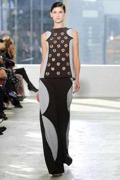 So cool. How Chelsea and Williamsburg will do winter evening wear.  Delpozo Fall 2014 Ready-to-Wear Collection Slideshow on Style.com