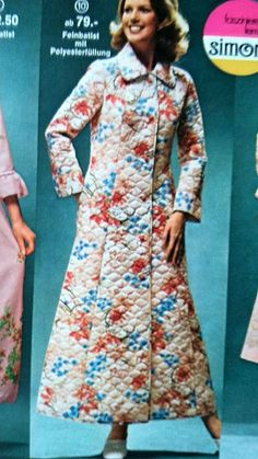 Quilted Robe 1975