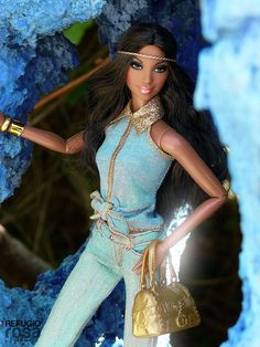 Alma Turquesa (Turquoise Soul) | Barbie Ooak dolls by David Bocci for Refugio Rosa | Flickr - Photo Sharing!