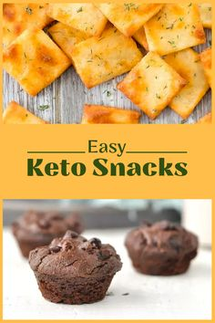 22 Low-Carb Keto Snacks To Take On The Go Healthy High Protein Meals, Low Carb Protein Bars, High Protein Recipes, Healthy Meal Prep, Low Carb Keto, Low Carb Recipes, Keto Meal, Healthy Eats, Healthy Foods