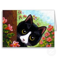 Funny Cat Notecards Cards Creationarts