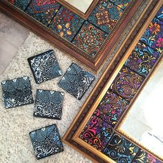 5 All Time Best Useful Ideas: Airplane Model Wall Decor be Tile Art, Mosaic Art, Mosaic Tiles, Azulejos Diy, Tile Crafts, Clay Tiles, Paperclay, Dot Painting, Tile Patterns