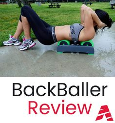 BackBaller Review: An EVA Foam Roller for athletes, designed to help with myofascial and muscular relief as part of the training recovery process
