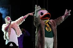 The Duck after a trip to the Thrift Shop with Macklemore #GoDucks