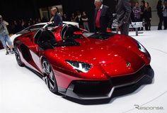 Lamborghini Aventador J / ランボルギーニ アヴェンタドールJ (@ジュネーブモーターショー12)