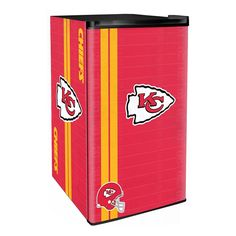 Use this Exclusive coupon code: PINFIVE to receive an additional 5% off the Kansas City Chiefs NFL Legacy Counter Height Fridge at SportsFansPlus.com