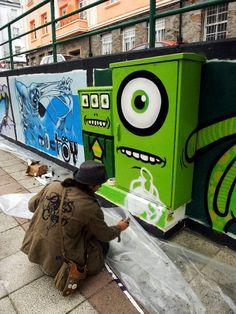 Transformer le Street Art en GIFs animés