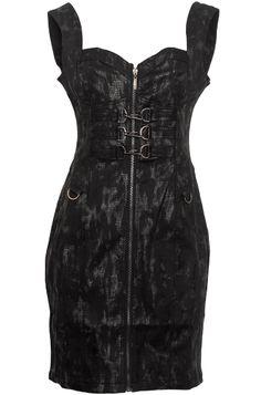 Gothic Snakeskin Military Dress £59.99