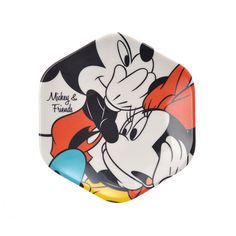 Mickey & Minnie Plate