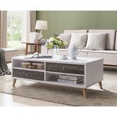 Found it at AllModern - Brightwood Contemporary Coffee Table