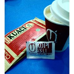 Coffee with kuaci???!!!!.. matched!!!! :D