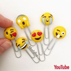 8 Fun Emoji Crafts - diy Thought Best Picture For Polymer Clay Crafts color combos For Your Taste You are looking for something, and it is going to tell you exactly what you are looking for, and you d Polymer Clay Kawaii, Fimo Clay, Polymer Clay Projects, Polymer Clay Charms, Polymer Clay Creations, Clay Crafts, Diy Crafts For Teens, Teen Crafts, Simple Crafts