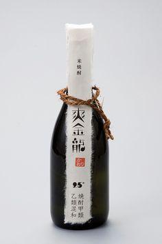 Japanese packaging design — bottle design