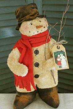 Mr. Wilbur - Snowman PATTERN - CF881